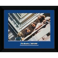 The Beatles Blue Album - 8 x 6 Framed Photographic