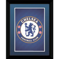 Chelsea Club Crest - 8   x 6   Framed Photographic - Chelsea Gifts