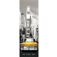 New York Taxi No 1 - Door Poster - 53 x 158cm