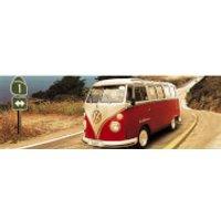 VW Californian Camper Route One - Door Poster - 53 x 158cm