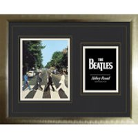 The Beatles Abbey Road - High End Framed Photo - 16   x 20 - The Beatles Gifts