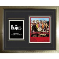 The Beatles Sergeant Pepper - High End Framed Photo - 16   x 20 - The Beatles Gifts