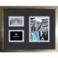 Manchester City Premier League Winners 11/12 - High End Framed Photo - 16 x 20
