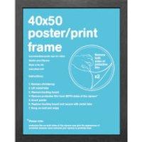 Black Frame Mini - 44 x 50cm