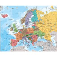 European Map 2014 - Mini Poster - 40 x 50cm