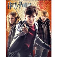 Harry Potter 7 Trio - Mini Poster - 40 x 50cm - Harry Potter Gifts