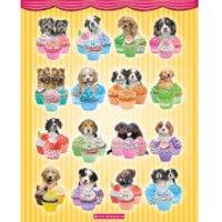 Keith Kimberlin Puppies Cupcakes - Mini Poster - 40 x 50cm