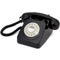 GPO Retro 746 Rotary Dial Telephone – Black