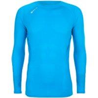 Skins Mens 360 Long Sleeve Tech Process Top - Blue - S - Blue