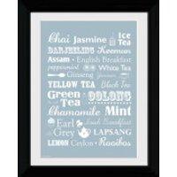 Tea Types - Collector Print - 30 x 40cm