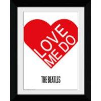 The Beatles Love Me Do - Collector Print - 30 x 40cm