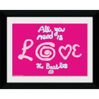 The Beatles All You Need Is Love - Collector Print - 30 x 40cm - The Beatles Gifts