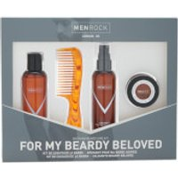 The Men Rock Beardy Beloved Kit (Worth 36.00)
