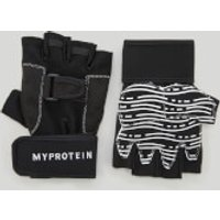 Myprotein Pro Training Lifting Gloves - L - Black