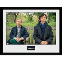 Sherlock Park Bench - 30 x 40cm Collector Print - Bench Gifts