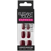 Elegant Touch Express Nails - Polished Garnet