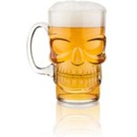Final Touch Skull Beer Glass - Beer Glass Gifts