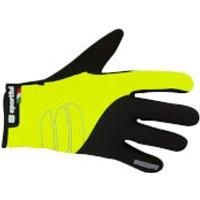 Sportful Windstopper Essential Gloves - Yellow Fluo/Black - L - Yellow Fluo/Black