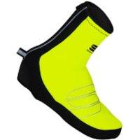 Sportful Reflex Windstopper Shoe Covers - Yellow Fluo/Black - L - Yellow Fluo/Black
