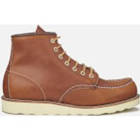 Red Wing Red Wing Men's 6 Inch Moc Toe Leather Lace Up Boots - Oro Legacy - UK 6.5/US 7.5 - Tan