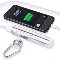 Veho Pebble Smartstick+ Emergency Portable Battery Back Up Power, 2800mah - Silver