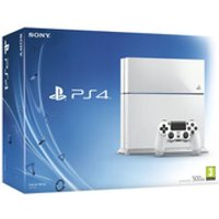 Sony PlayStation 4 500GB Console - White - Sony Gifts