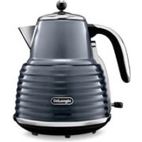 De'Longhi KBZ3001 Scultura Kettle - Gun Metal High Gloss - Gun Gifts