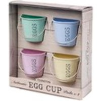 Eddingtons Egg Cup Buckets - Pastel Shades - Cup Gifts