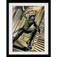 DC Comics Arrow Cover Green - 30x40 Collector Prints - Comics Gifts