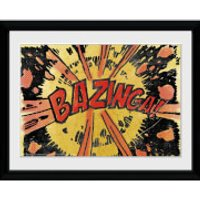 The Big Bang Theory Bazinga Comic - 30x40 Collector Prints - The Big Bang Theory Gifts