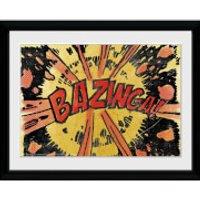 The Big Bang Theory Bazinga Comic - 30x40 Collector Prints