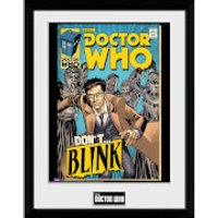 Doctor Who Weeping Angels Comic - 30x40 Collector Prints - Doctor Who Gifts