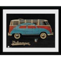 VW Camper Paint Advert - 30x40 Collector Prints