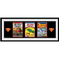 DC Comics Superman Comics - 30x75 Collector Prints - Superman Gifts