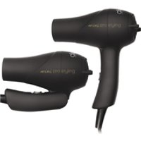 Diva Professional Styling Travel Dryer - Rubberised Black