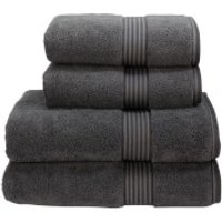 Christy Supreme Hygro Towels - Graphite - Bath Sheet (Set of 2) - Grey