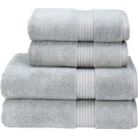 Christy Supreme Hygro Towels - Silver - Bath Sheet (Set of 2) - Silver