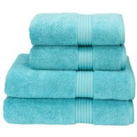 Christy Supreme Hygro Towels - Lagoon - Hand Towel (Set of 2) - Blue