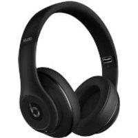 Beats By Dr. Dre: Studio 2.0 Noise Cancelling Wireless Headphones - Matt Black - Apple Refurbished - Apple Gifts