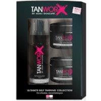 Tanworx Ultimate Self Tanning Foam Collection - Fair/Medium (Worth PS63.80)