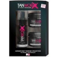 Tanworx Ultimate Self Tanning Foam Collection - Dark/Very Dark (Worth PS63.80)