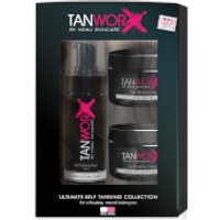 Tanworx Ultimate Self Tanning Foam Collection - Dark/Very Dark (Worth PS63.80)