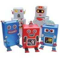 Robot Gift Wrap - Multi