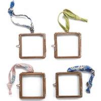 Nkuku Tiny Kiko Frame - Antique Copper - Set of 4 9x7x8cm