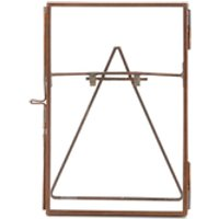 Nkuku Danta Glass Frame - Antique Copper - Portrait 4 x 6 (10 x 15cm)