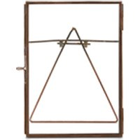 Nkuku Danta Glass Frame - Antique Copper - Portrait 5  x 7  (13 x 18cm)