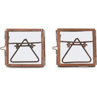 nkuku-tiny-danta-frame-antique-copper-set-of-2-7x7x7cm