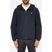 Lyle & Scott Vintage Mens Zip Through Hooded Jacket - New Navy - S - Blue