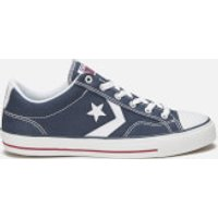 Converse Mens Cons Star Player Canvas Trainers - Navy/White - UK 8 - Navy/White