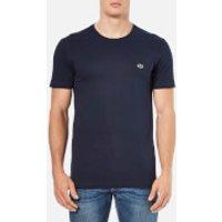Lacoste Mens Basic Crew T-Shirt - Navy - 2/XS - Navy